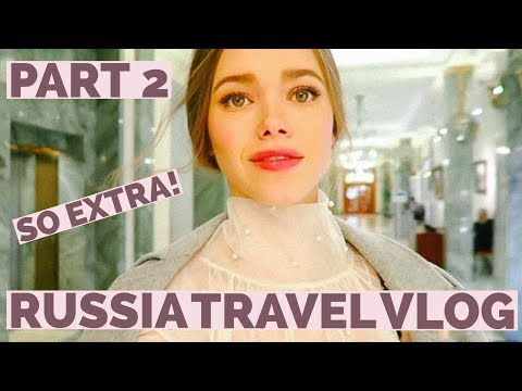 Being Extra in St. Petersburg | Russia Travel Vlog | Part 2