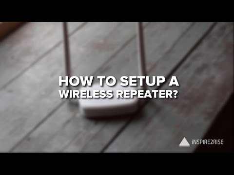 How to setup a Wireless Repeater [TENDA wireless router review]