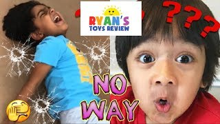 I MAILED MYSELF In A BOX To Ryan ToysReview When Walmart Ran Out Of Ryan's World Toys!! It WORKED!!!