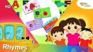 Wheels On The Bus | ABC Phonics | Plus More Nursery Rhymes By Shemaroo Kids Junior