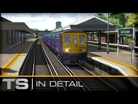 The modern, dual-voltage Class 319 EMU is here for Train Simulator in the familiar First Capital Connect livery as seen on Thameslink services out of London....