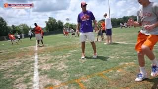 Clemson Football || 2015 Dabo Swinney Youth Football Camp - Session One