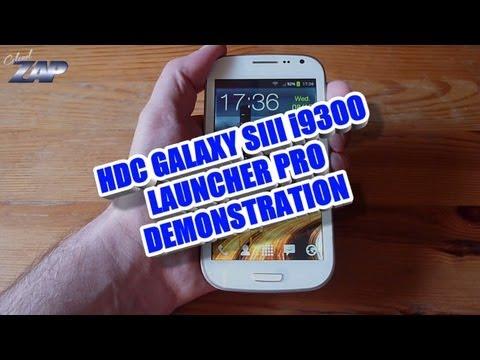 HDC Galaxy SIII i9300 MT6575 Dualsim Launcher Pro Testing - Samsung S3 Copy Clone? ColonelZap