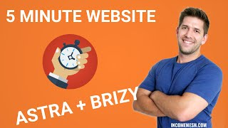 [NEW FEATURE] Build a Full Website with Brizy + Astra in 5 minutes 100% Free