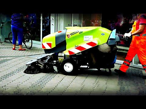 Fancy Street Cleaning Machine in Europe