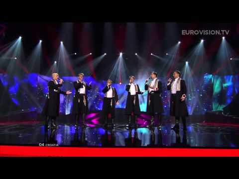 Klapa S Mora   Mi  Erja  Croatia    Live   2013 Semi Final  1 