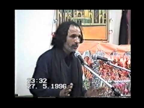 old majlis 1996 zakir Bava Qamar Abbas at Anjuman E Haideria bradford