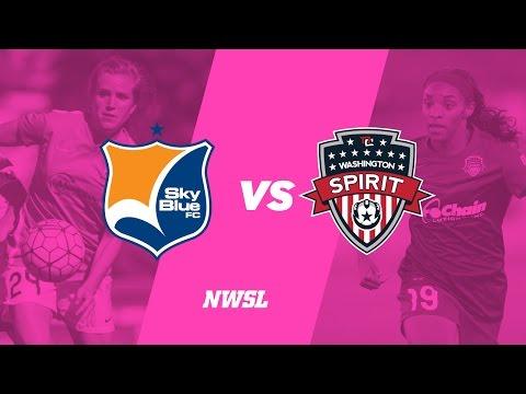 Sky Blue FC vs. Washington Spirit