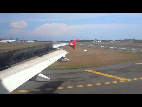 Airasia Landing Denpasar Bali KUL-DPS