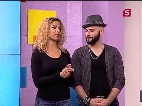 Jorge Ataca & Tanja La Alemana @ Russian TV 5 channel