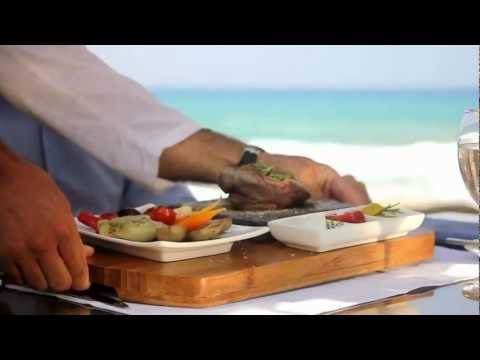 Grecotel Amirandes luxury hotel pool bar restaurant brasserie by the sea Heraklion Crete