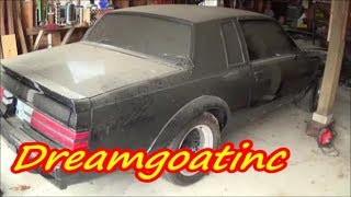 1987 BUICK GRAND NATIONAL GNX #244 BARN FIND DGTV CARS
