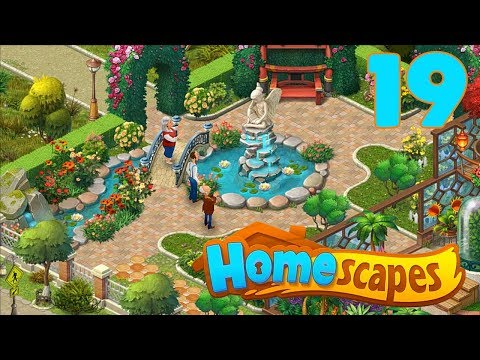 HOMESCAPES STORY WALKTHROUGH - PART 19 GAMEPLAY - ( iOS   Android )