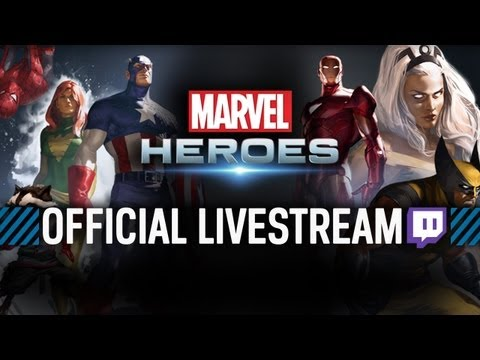 Marvel Heroes - Official Closed Beta Stream #7 - Patch Preview (Part 1)