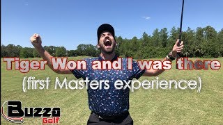 Tiger Won and I was there (first Masters experience)