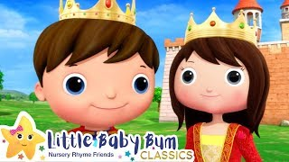 Princess and The Pea Song - Nursery Rhyme & Kids Song - ABCs and 123s | Little Baby Bum