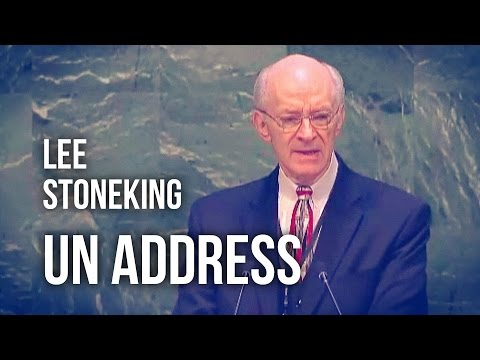 Lee Stoneking Addresses UN General Assembly