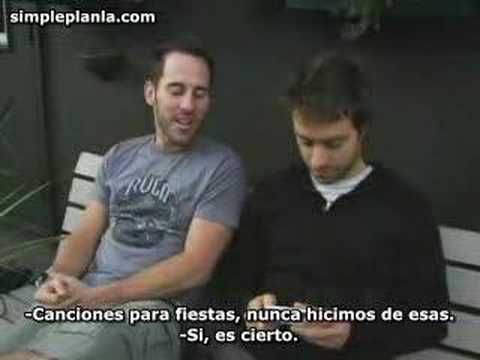 Simple Plan responde tus preguntas Video