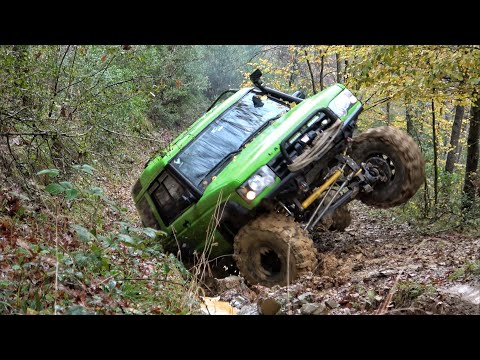 Land Rover Discovery TD5 - YEŞİL - Ağva - Extreme OFF ROAD / Mud