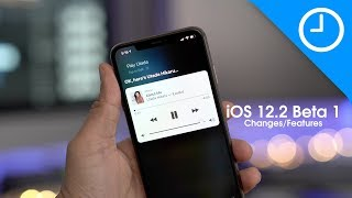 iOS 12.2 beta 1 Changes and Features!
