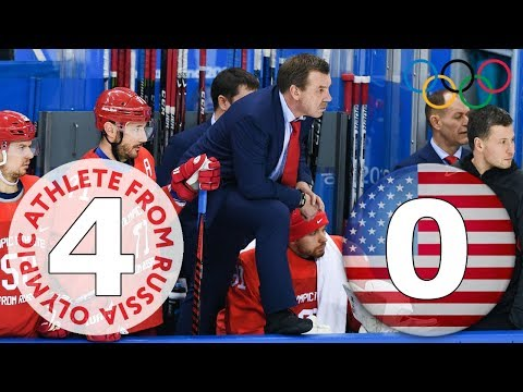 Россия х США 4-0 Пхёнчхан 2018