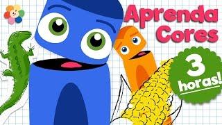 Aprender as Cores para Crianças | Desenhos Animados para Crianças | BabyFirst