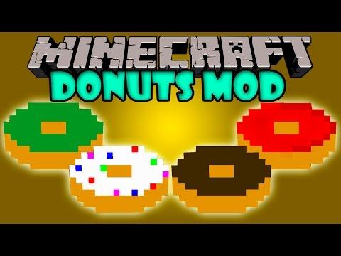 DONUTS MOD - Donas Muy Chetadas! - Minecraft mod 1.6.4 Review ESPAÑOL