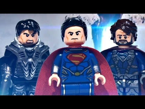 LEGO DC Universe : Man of Steel - Upgraded Superman, General Zod, & Jor-El | Showcase