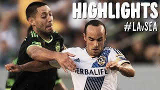 HIGHLIGHTS: LA Galaxy vs. Seattle Sounders | October 19, 2014