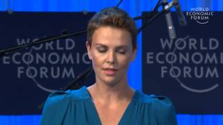 Inspiring Speech by Charlize Theron on AIDS