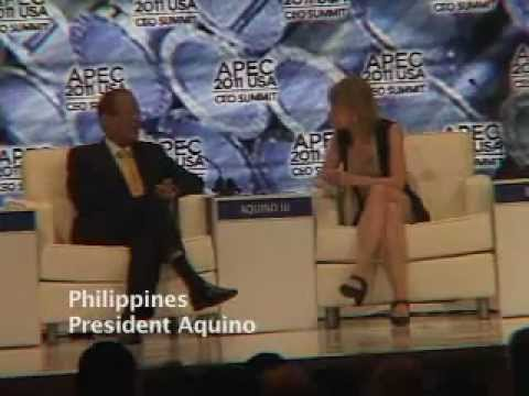 President Aquino at APEC & the Manila Bay Clean Up