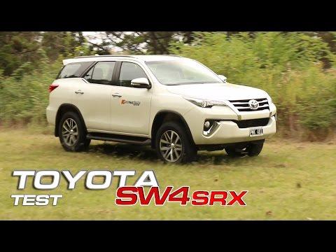 Toyota SW4 SRX Test - Routière - Pgm 367
