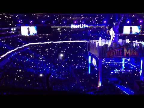 Undertaker Entrance Wrestlemania 2013 video