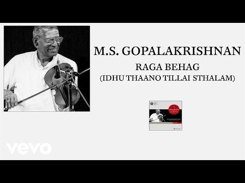M.S. Gopalakrishnan - Raga Behag