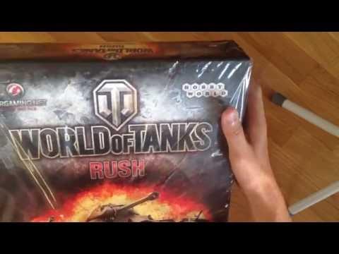 World of Tanks Rush Подарочное издание. Обзор.