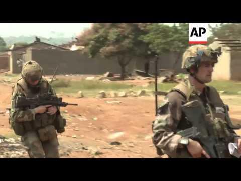 Peacekeepers patrol capital, day after gunbattles between rival militias