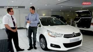 Citroen C4 presented by Paul O