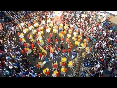 Aarambh Dhol pathak vadan  Fadke road _ Diwali pahat 2013
