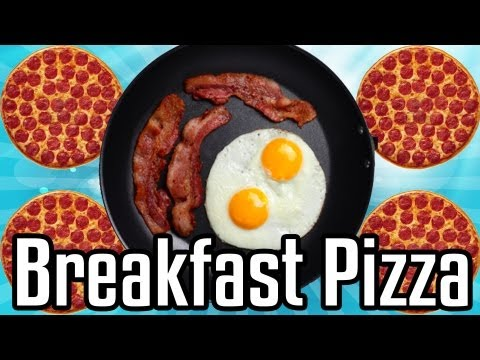 Breakfast Pizza - Epic Meal Time