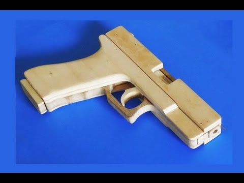 Shell Ejection Rubber Band Gun  -Structure