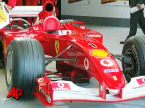 Schumacher to Help Out Ferrari