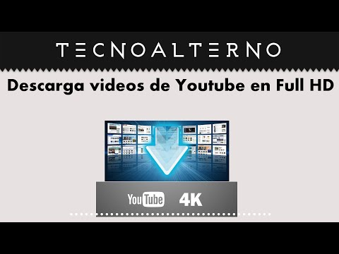 Descarga videos de Yoututube en Full HD 4K Gratis y facil en Windows