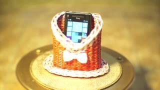 Подарочные подставки для мобильных телефонов. Видеоальбом.