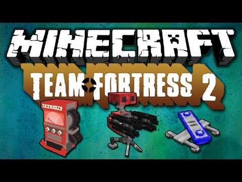 Minecraft [1.5.2] Team Fortress 2 - Mod Review - [German HD]