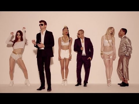 Robin Thicke I Blurred Lines (feat. T.i. And Pharrell) I Official Instrumental I Don Coda video