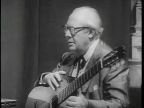 Andrés Segovia (Master Class 1965) with aldo minella (part1)