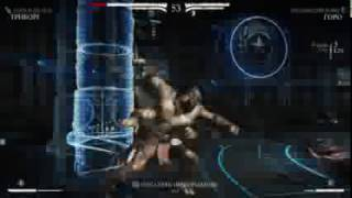 MK XL playing as Goro