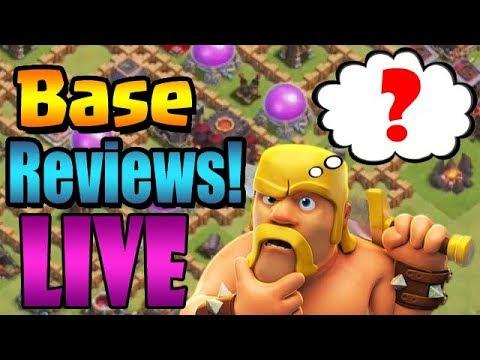 Base Reviews LIVE!  |  Clash of Clans