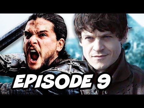 Game Of Thrones Season 6 Episode 9 Jon Snow vs Ramsay Bolton TOP 10 WTF