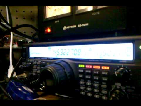 KD0IDB's ground station: calling CQ on VO-52